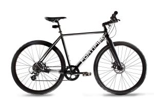 Fortified Theft-Resistant 8 Speed Disc-Brake City Commuter Bike Review
