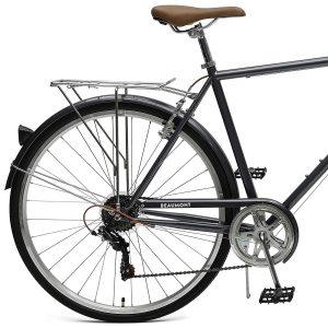 Retrospec Critical Cycles Beaumont-7 Seven Speed Men's Urban City Commuter Bike Back