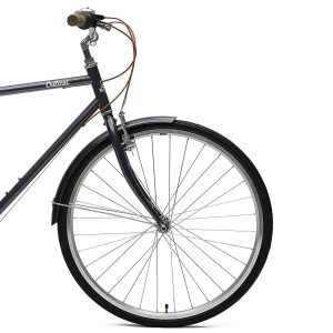 Retrospec Critical Cycles Beaumont-7 Seven Speed Men's Urban City Commuter Bike Front